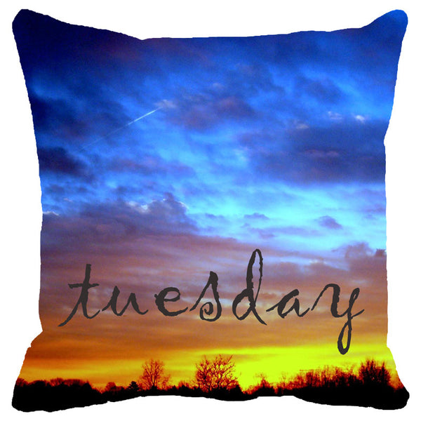 Leaf Designs Tuesday Cushion Cover