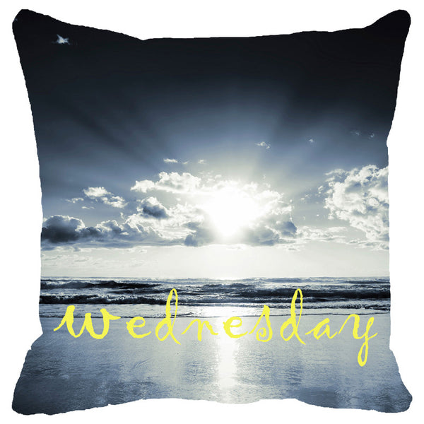 Leaf Designs Wednesday Cushion Cover