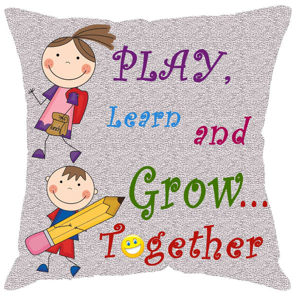 Leaf Designs School Cushion Cover
