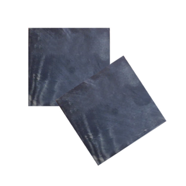 Fabulloso Grey Slate Coaster - Set of 2