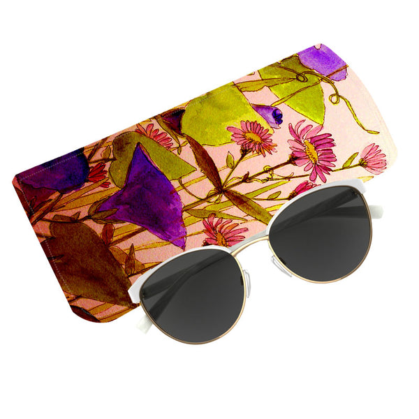 Fabulloso Lilac Floral Spectacle Case