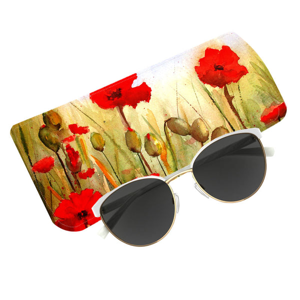 Fabulloso Red Poppy Spectacle Case