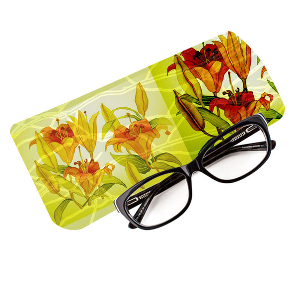 Fabulloso Orange Lily Spectacle Case