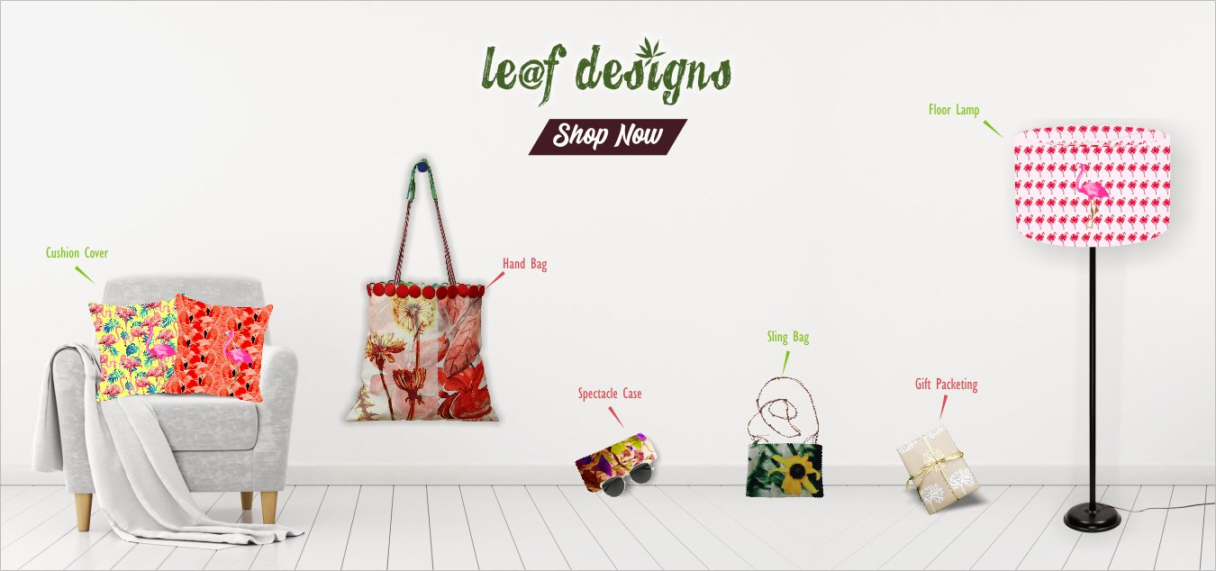 Leaf Designs Table Mats