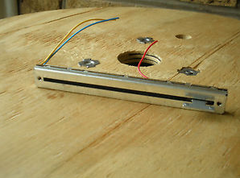 Volume controls and sliders resistors
