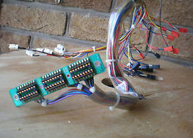 TASCAM 38 Head harness with molex plugs