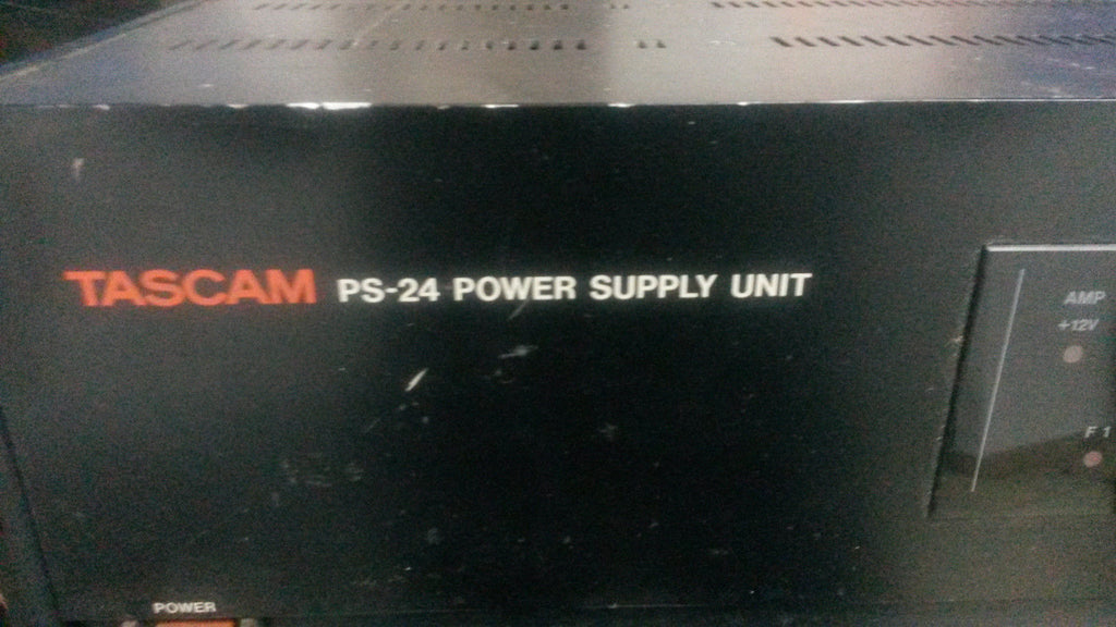Tascam PS24 PS-24 MSR24 power supply  H33