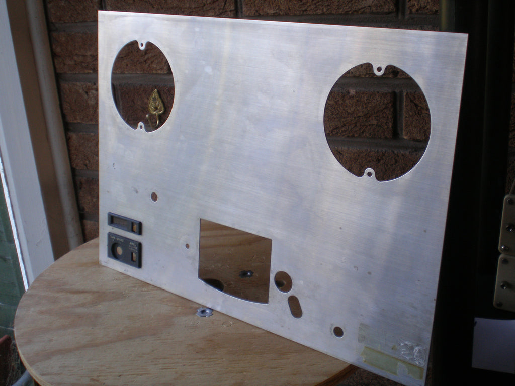 Teac A3300 metal front reel panel