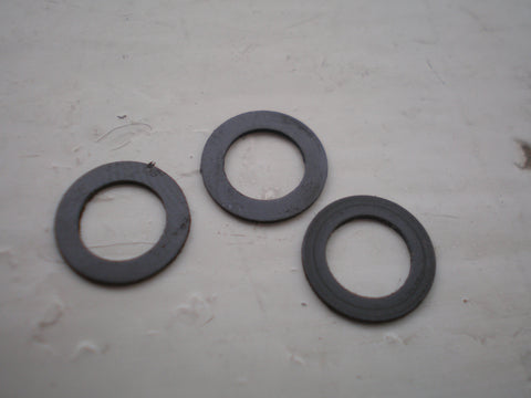 Black Teflon washers in 4mm 5mm and 6mm 8mm