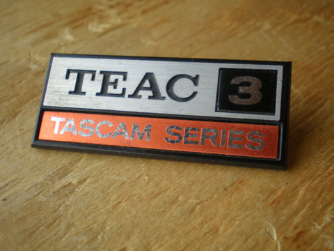 Teac Tascam 3 mixer badge