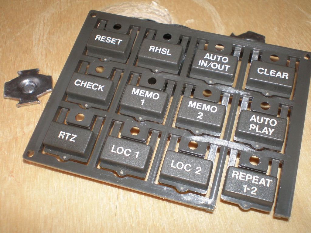 Tascam TSR-8 front panel push button 12 way