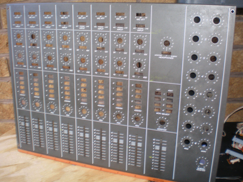 Teac 3 Tascam series Mixer front panel