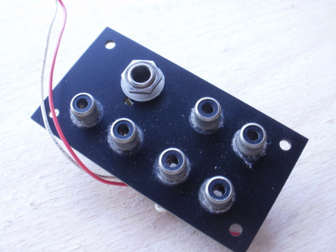 Tascam 244 6 phono and 1 jack socket board