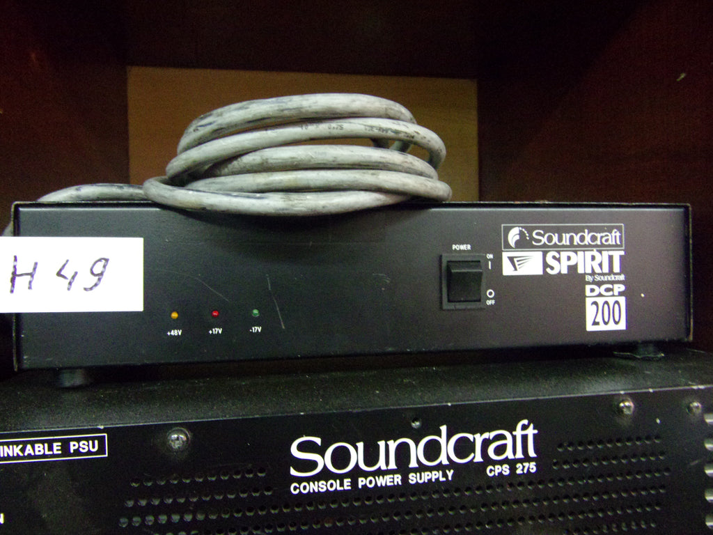 Soundcraft DCP-200 power supply