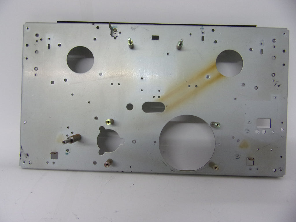 Tascam X-3 metal front chassis plate
