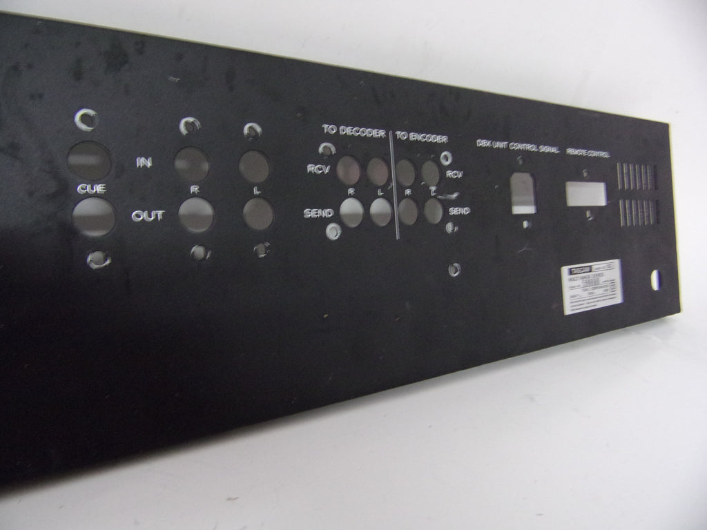 Tascam 133 rear panel