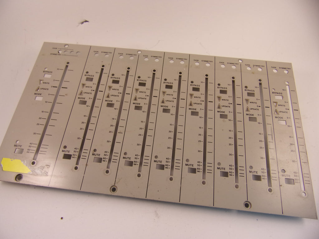 Tascam M-3700 fader panels in two  variants