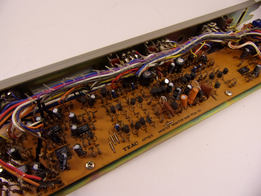 Tascam M-35 complete master monitor amp pcb-101