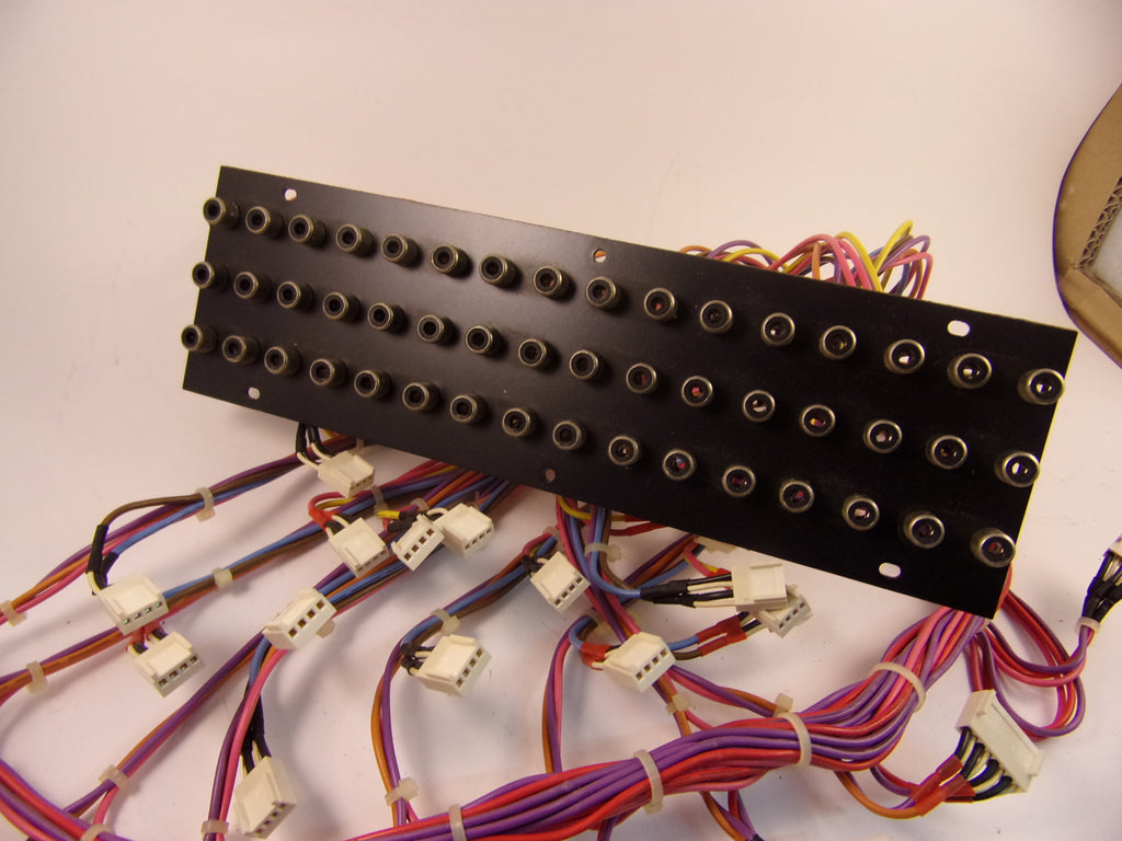 Tascam M-30 wiring loom with 48 way phono socket