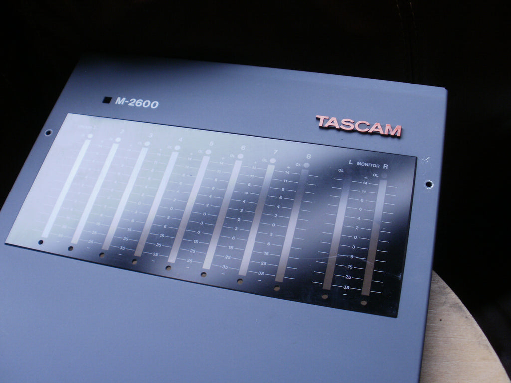 Tascam M2600 group and VU front panel