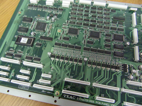 Tascam TM-D8000 PCB CPU PANEL E900573-00A