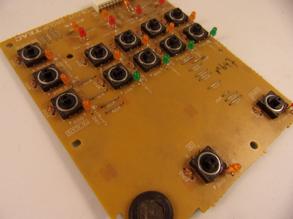 TASCAM TM-D8000 PCB CUT GROUP E900560-00A