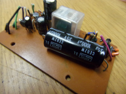 Teac A-1030 50484183 relay and cap pcb