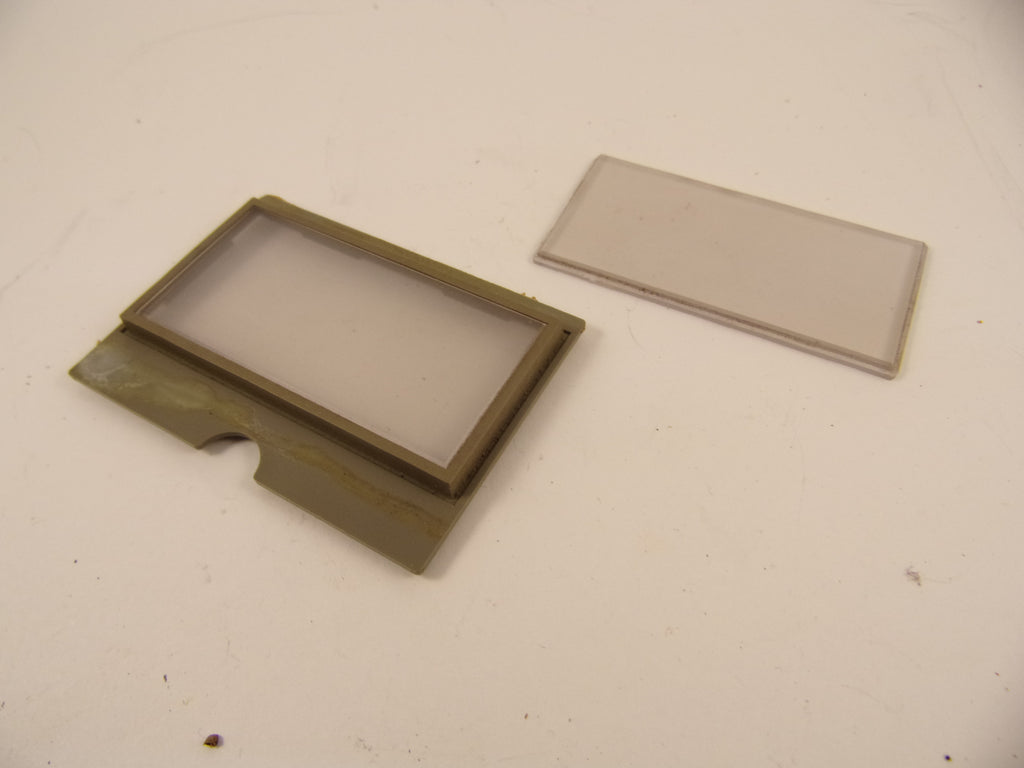 Tascam M-35 M-30 and others Perspex VU cover and frame