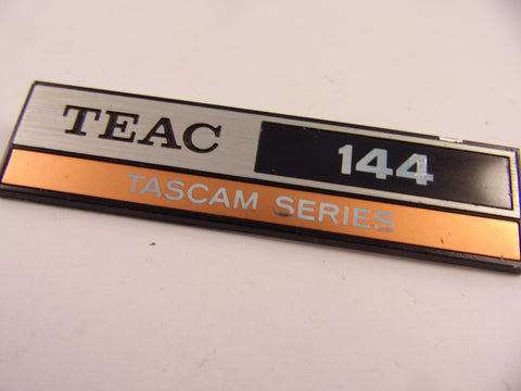 Tascam 144 badge