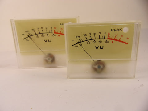 Soundcraft MH4 VU meter in 2 sizes