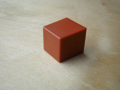 Tascam M-06 and many others orange square pushbutton knob