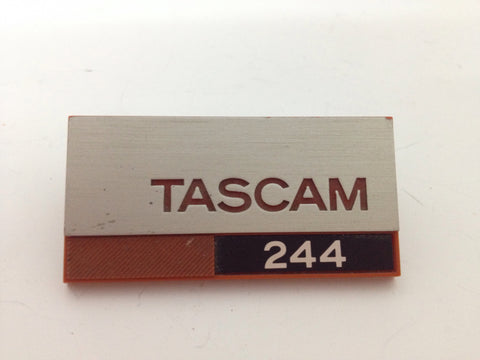 Tascam 244 badge