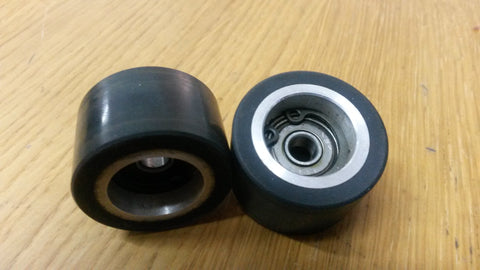 Teac 80-8 pinch wheel used  1/2 inch for refurbishment