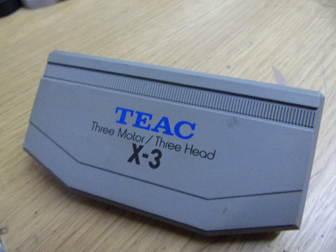 Tascam X-3 plastic head cover