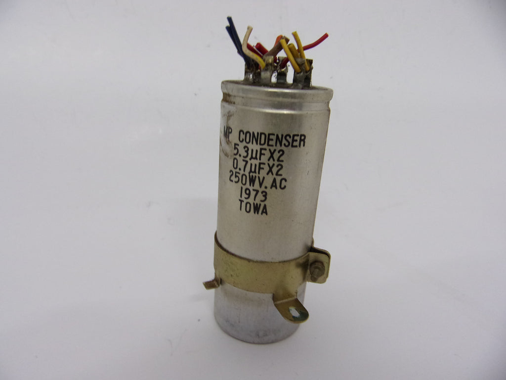 Towa Capacitor for Teac A3340 5.3uf x2 0.7uf x2