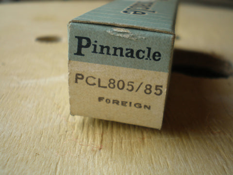 PCL805 Valve used in old tape recorders
