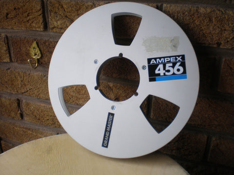 1/2 inch NAB reels with or without tape