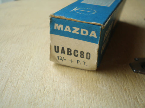 UABC80 Valve used in old tape recorders