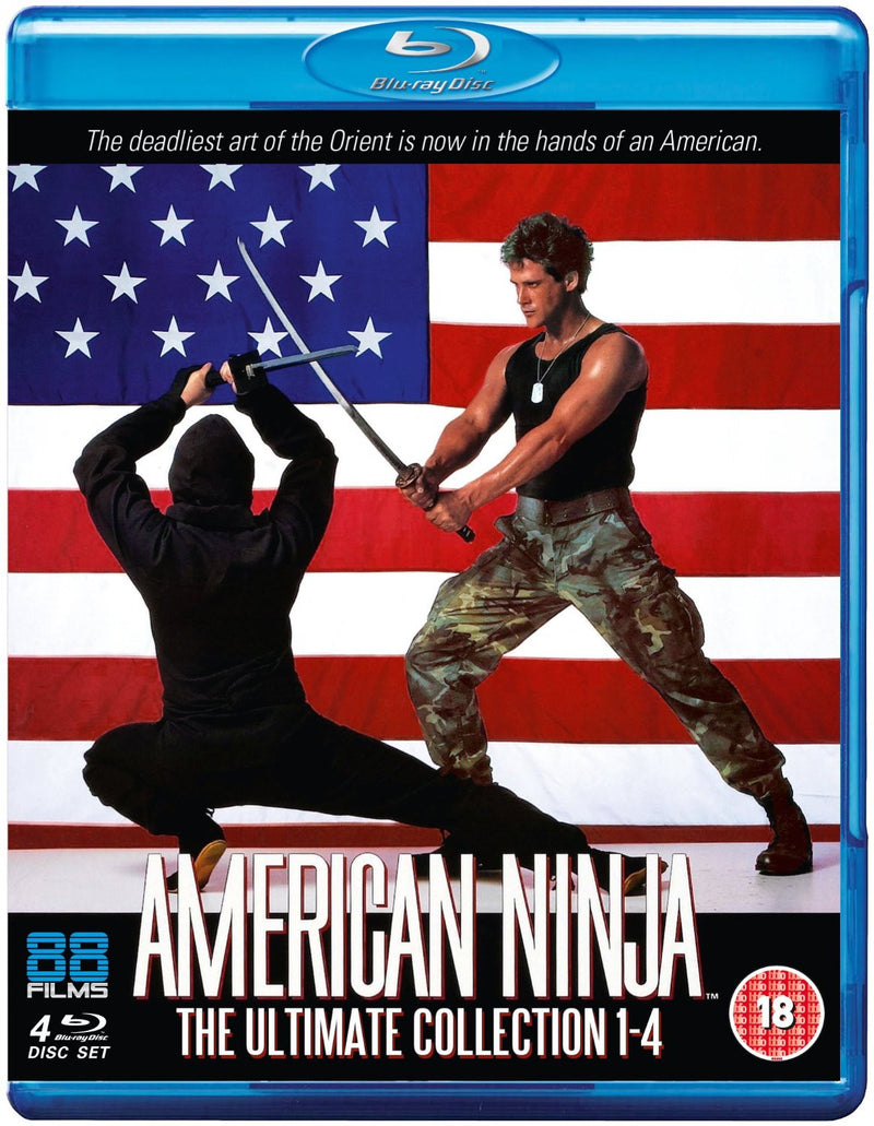 American Ninja - The Ultimate Collection 1-4 (Blu-ray)