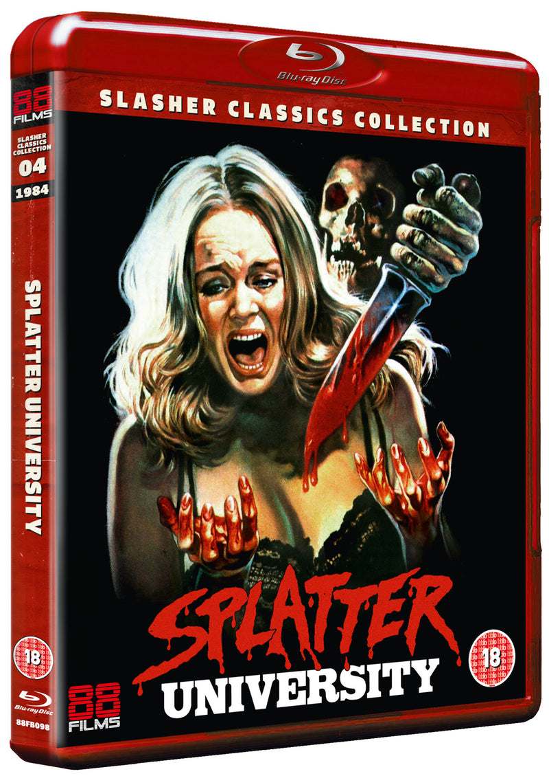 Splatter University (Blu-ray) - Slasher Classic Collection 4