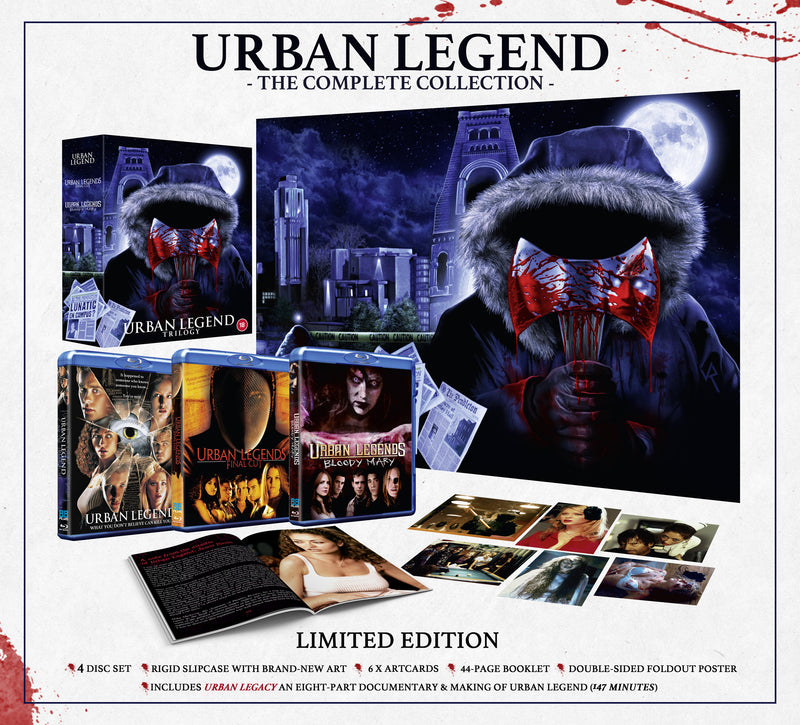 Urban Legend Trilogy (Limited Collectors Edition)