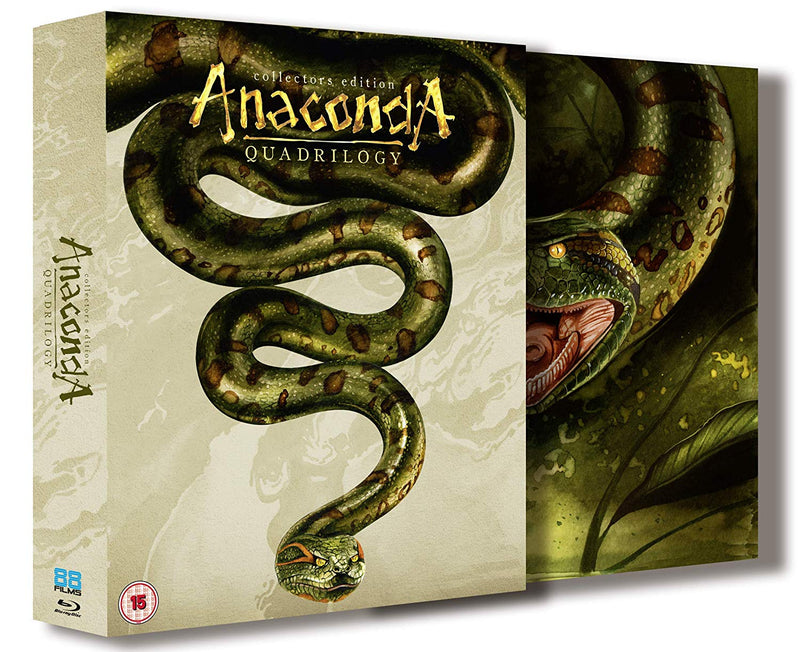 Anaconda Quadrilogy 1-4 Boxset - 3 Disc Collector's Edition (Blu-ray)