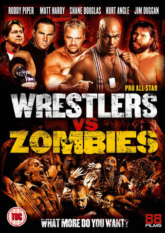 Pro All-Star Wrestlers vs Zombies (DVD)
