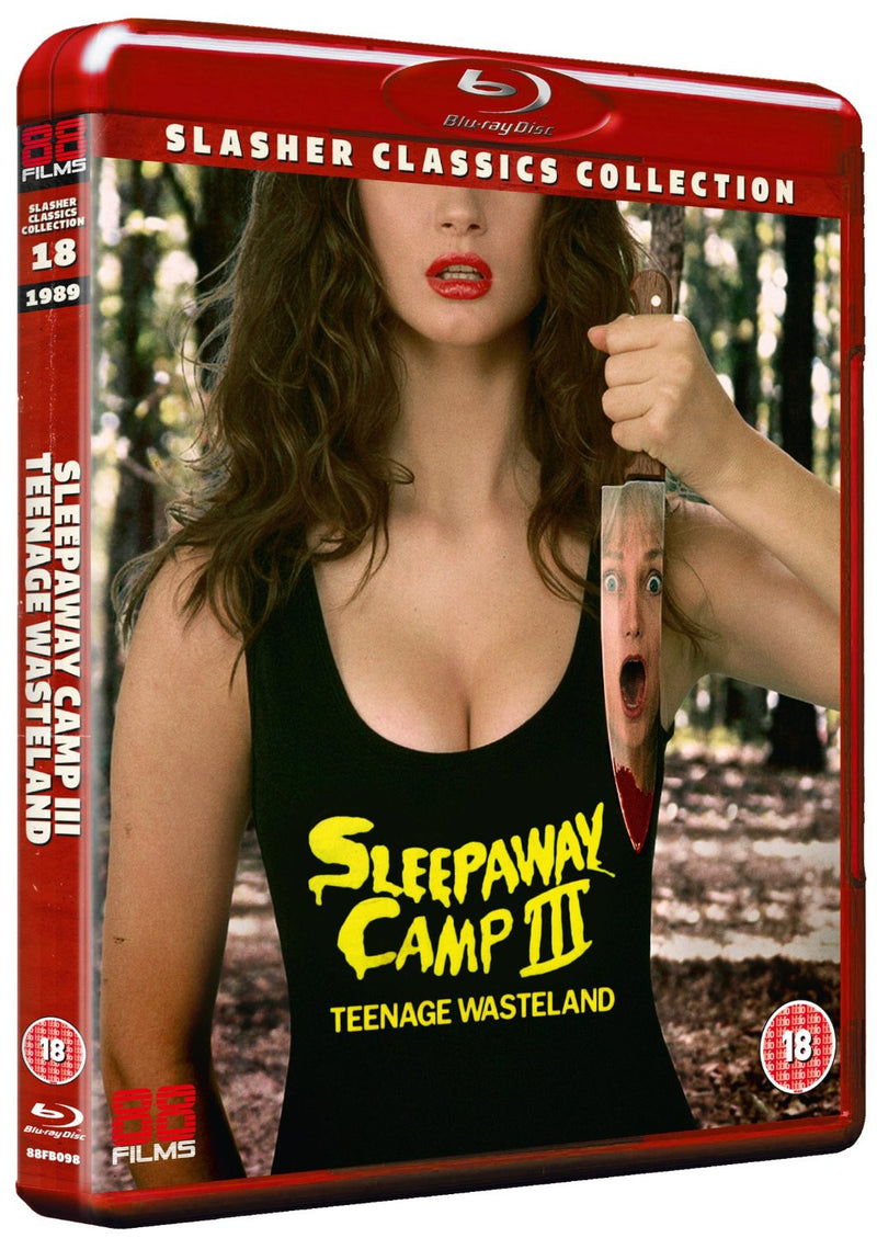 Sleepaway Camp 3 - Teenage Wasteland (Blu-ray) - Slasher Classic Collection 18