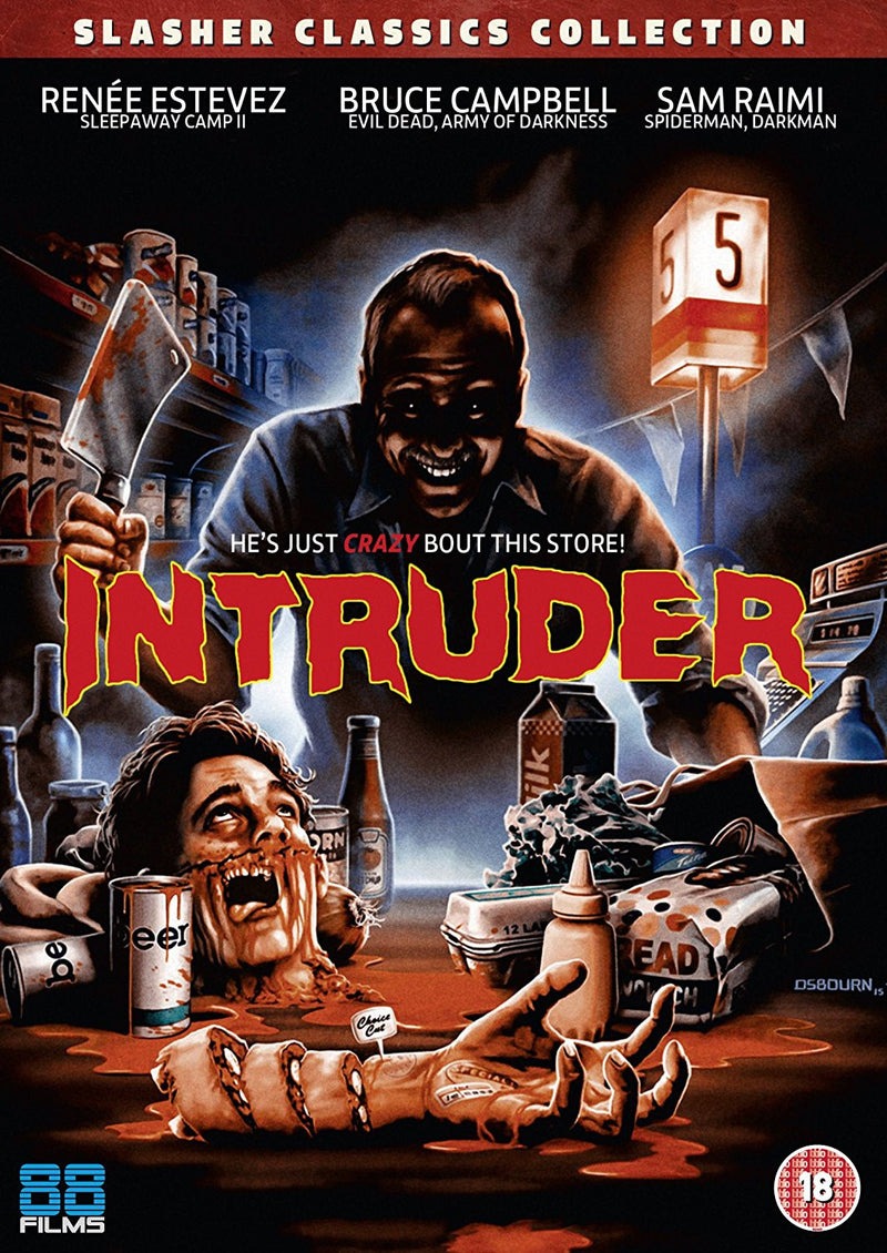 Intruder (DVD) - Slasher Classic Collection 23