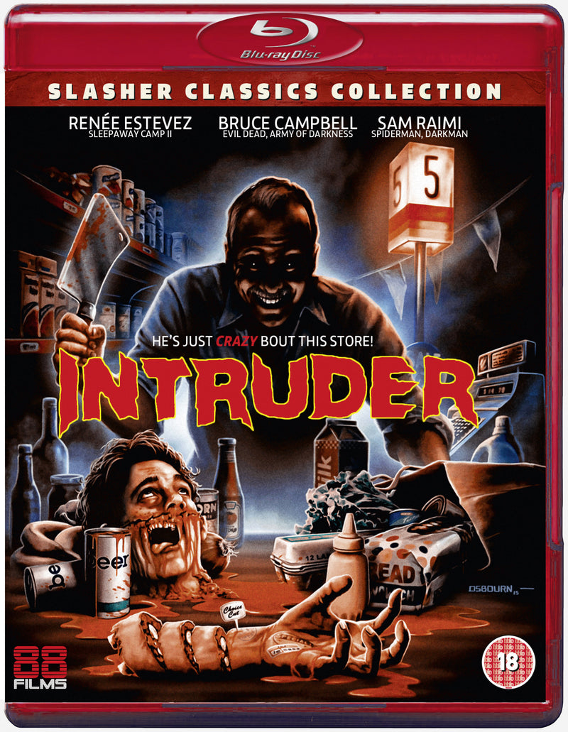 Intruder (Blu-ray) - Slasher Classic Collection 23