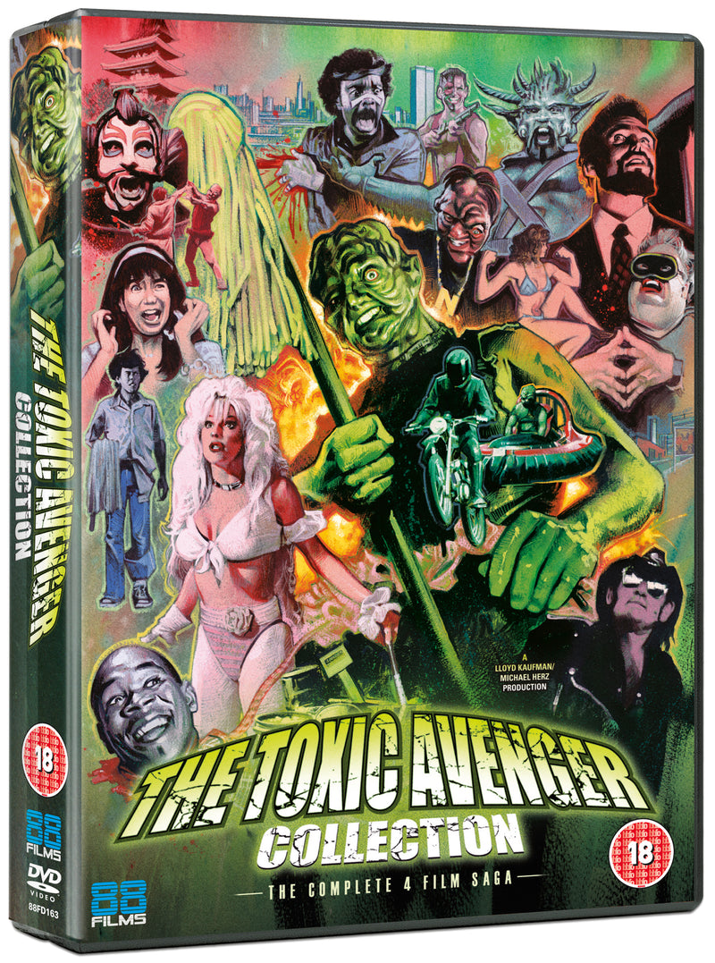 The Toxic Avenger Collection (DVD)