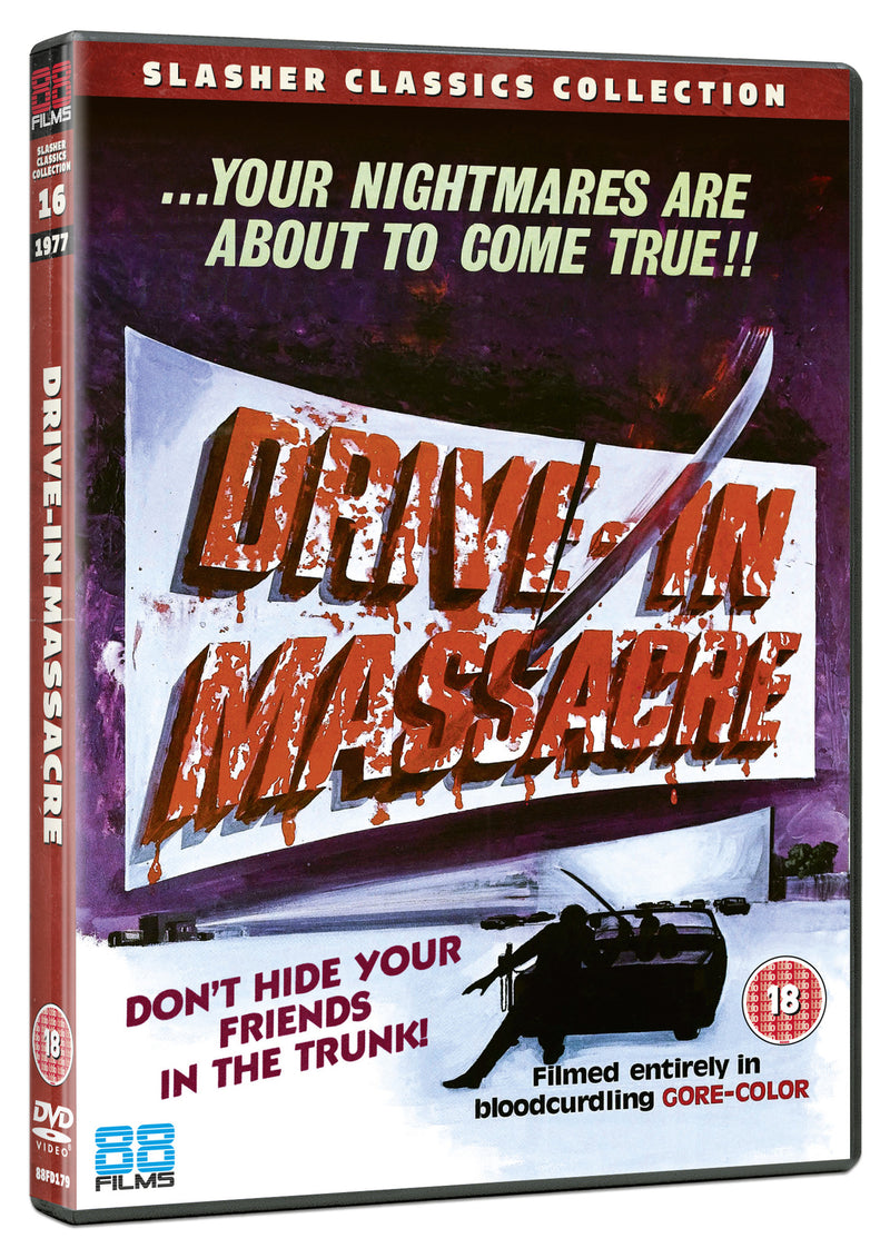 Drive-In Massacre (DVD) - Slasher Classic Collection 20