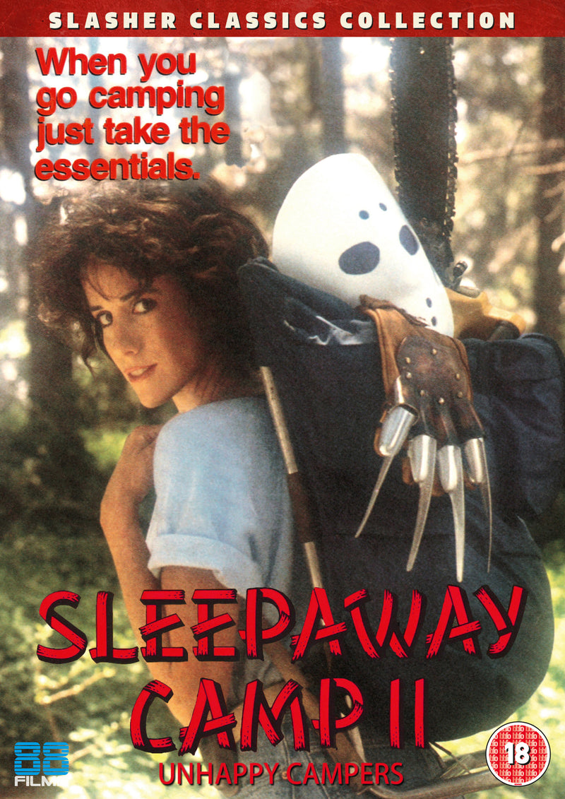 Sleepaway Camp 2 - Unhappy Campers (DVD) - Slasher Classic Collection 17