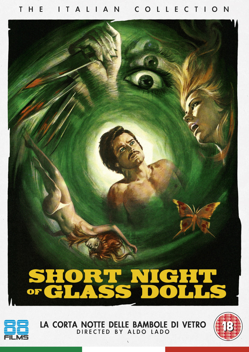 Short Night of Glass Dolls (DVD) - The Italian Collection 21